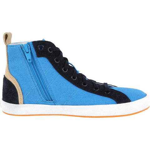 Hugo Boss Kids High Top Shoe 161 J29112 Footwear - Youth - Designer Hugo Boss 75K Turquoise 32