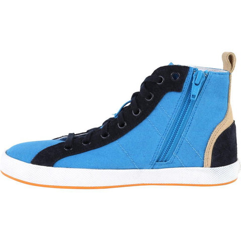 Hugo Boss Kids High Top Shoe 161 J29112 Footwear - Youth - Designer Hugo Boss 75K Turquoise 33