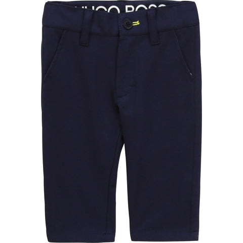 Hugo Boss Toddler Navy Smart Casual Pants Dress Pants Hugo Boss