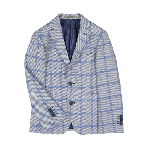 Isaac Mizrahi Boys Plaid Blazer 191 8207 Sports Jackets Isaac Mizrahi