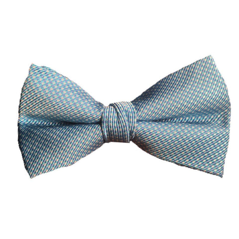 Lauren Ralph Lauren Boys Bow Tie Ties Lauren Ralph Lauren Aqua Mini Checkered