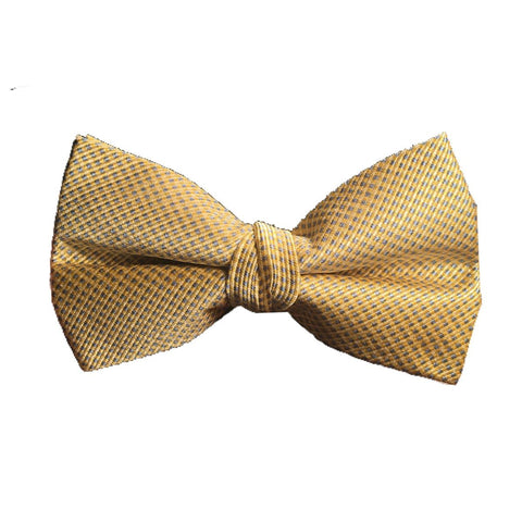 Lauren Ralph Lauren Boys Bow Tie Ties Lauren Ralph Lauren Yellow Mini Checkered