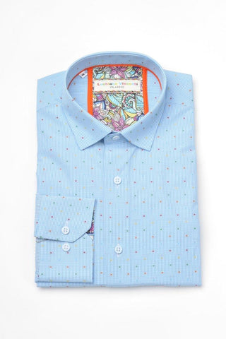 Luchiano Visconti Boys Shirt 3621 Dress Shirts Luchiano Visconti