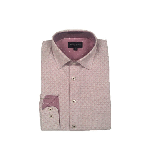 Marcelo D'Liola Boys Slim Shirt 192 5751 Dress Shirts Marcelo D'Liola Punch 10