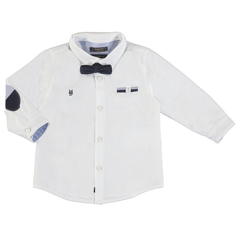 Mayoral Baby White Dress Shirt-Mayoral-NorthBoys