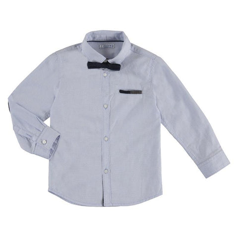 Mayoral Mini Basic Long Sleeve Dress Shirt 4.126-Mayoral-NorthBoys