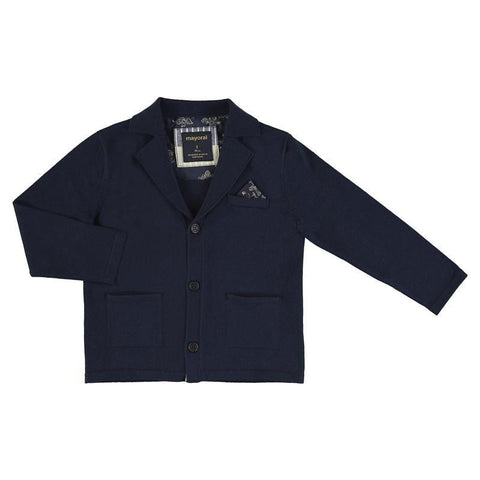 Mayoral Mini Knitted Jacket-Mayoral-NorthBoys