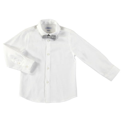 Mayoral Mini Long Sleeve Shirt Dress Shirts Mayoral