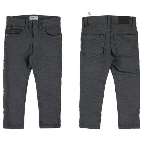 Mayoral Mini Slim Fit Serge Pants-Mayoral-NorthBoys