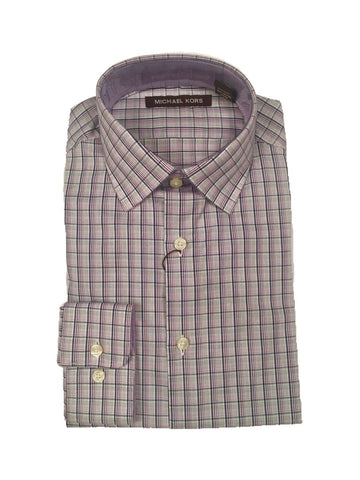Michael Kors Boys Cotton Plaid Shirt 192 Z0308 Dress Shirts Michael Kors