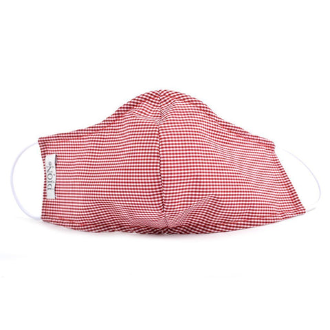 Non-Medical Face Mask Wine Gingham (Pre-Order) Face Mask NorthBoys