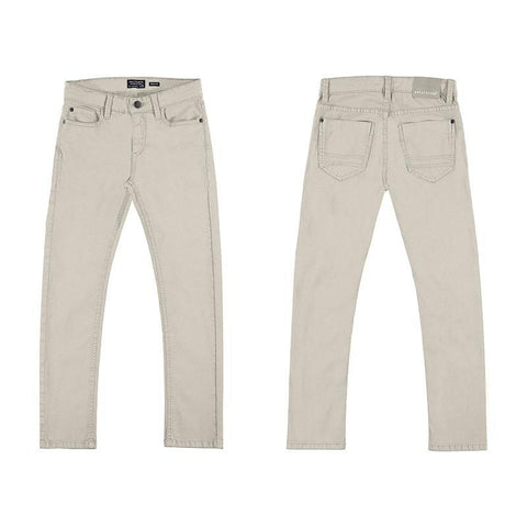 Nukutavake 5 Pocket Slim Fit Basic Cotton Pant Cotton Pants Mayoral Beige 8