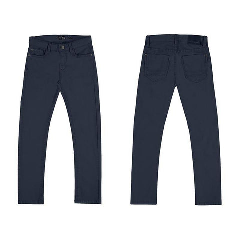 Nukutavake 5 Pocket Slim Fit Basic Cotton Pant Cotton Pants Mayoral Navy 10