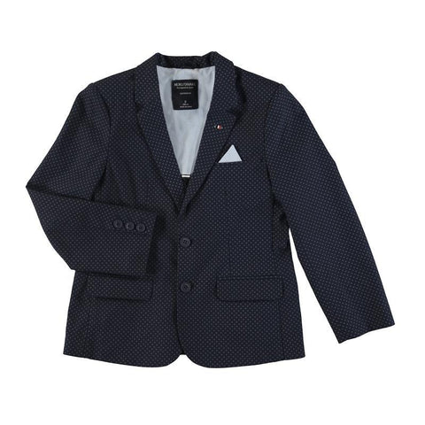 Nukutavake Boys Printed Linen Blazer Sports Jackets Mayoral