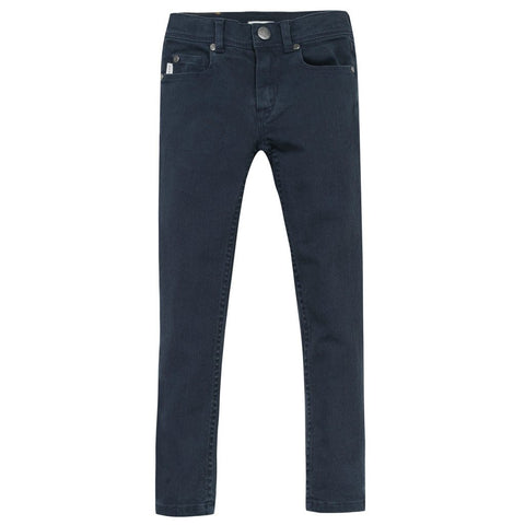Paul Smith Jr 5 Pocket Pants Fitted 162 5I22542 Cotton Pants Paul Smith Jr Dark Blue 12R