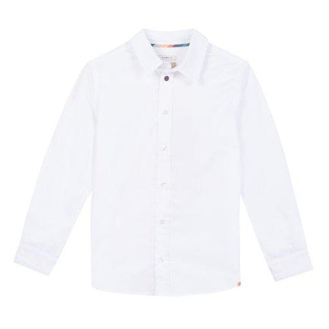 Paul Smith Jr Shirt l/s 181 5L12542 Dress Shirts Paul Smith Jr White 8R