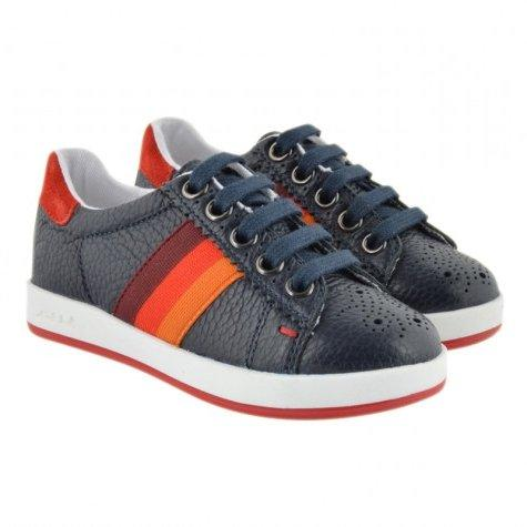 Paul Smith Jr Shoes Rabbit 171 5J81502 Footwear - Youth - Designer Paul Smith Jr Marine Blue 32
