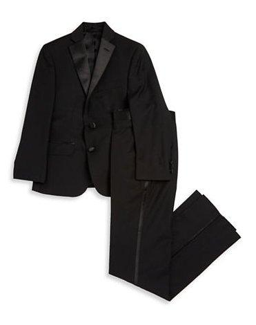 Ralph Lauren Boys Black Tuxedo HA0000 Suits (Boys) Ralph Lauren Black 20