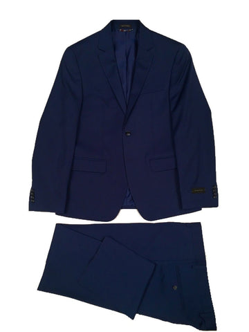 Sean John Mens Blue Twill Suit Z1353 Suits (Men) Sean John