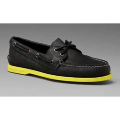 Sperry Top Sider Men's Limited 538629 Footwear - Mens Sperry Blk/Yellow 10.5