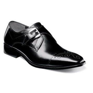Stacy Adams Mens Shoe Kimball 25110-001 Footwear - Mens Stacy Adams Black 8D