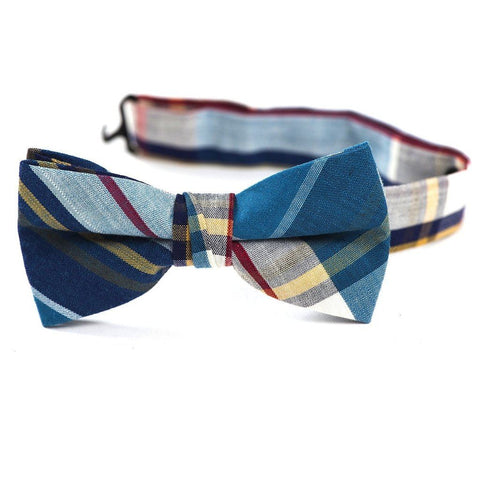 Urban Sunday Bow Tie Milan Ties Urban Sunday Navy/Teal/Red L (5-8+)