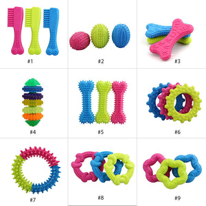 Rubber Resistant Bite Chew Training Toy For Pets