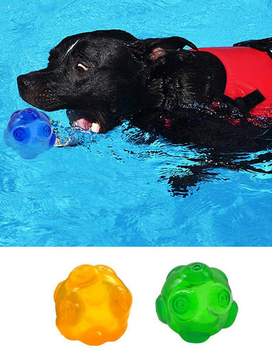 Dog Toys Squeaky Waterproof Ball - Dog Market Hub