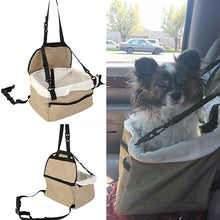 Dog Booster Seat Carrier Car Leash Bag - Dog Market Hub