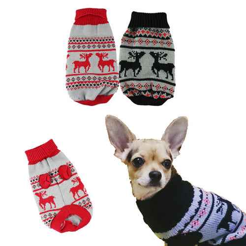 Puppy Dogs Christmas Sweater Warm Clothing