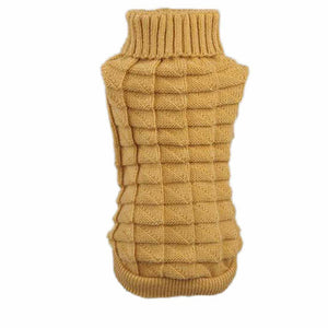 Dog Coat Pet Winter Woolen Sweater - Dog Market Hub