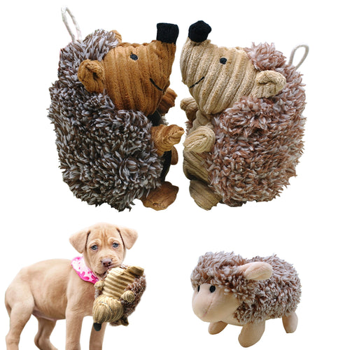Squeak Sound Interactive Plush Dogs Toys - Dog Market Hub