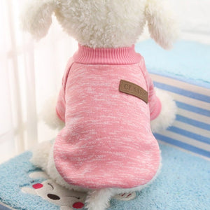 Classic Warm Clothes Puppy Pet Jacket - Dog Market Hub