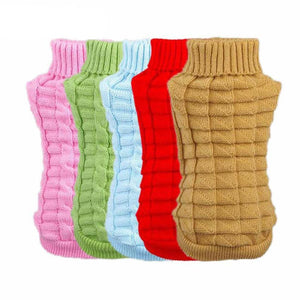 Dog Coat Pet Winter Woolen Sweater