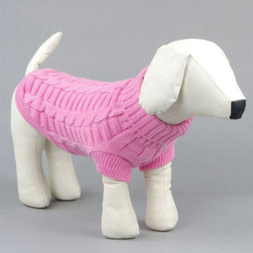 Cute Pet Dog Knitwear Outdoor Warm Puppy Sweater - Dog Market Hub