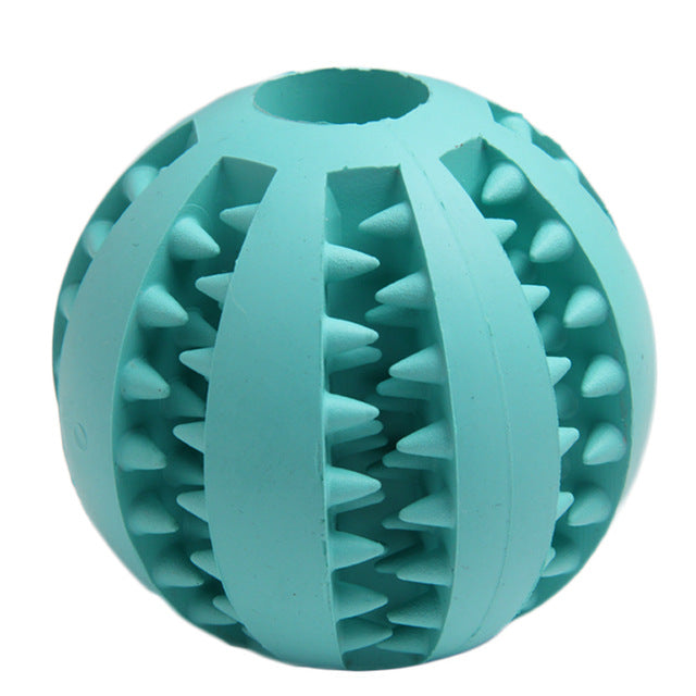 Soft  Rubber Chew Ball For Dogs Toy - Dog Market Hub
