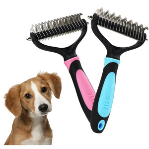 Hair Removal Comb Pet Brush Shedding Trimming