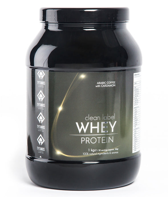 Clean Label Whey Protein - Arabic Coffee with CARDAMON