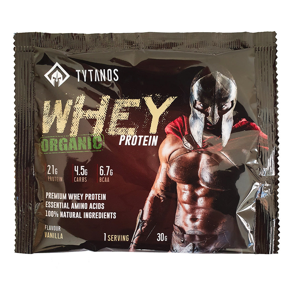 TRAVELSIZE Organic Whey Protein