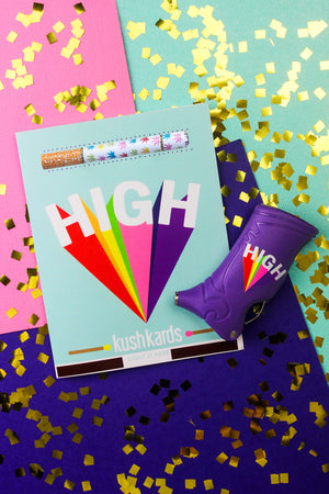 HIGH Power Toker Poker x Kush Kards Gift Set