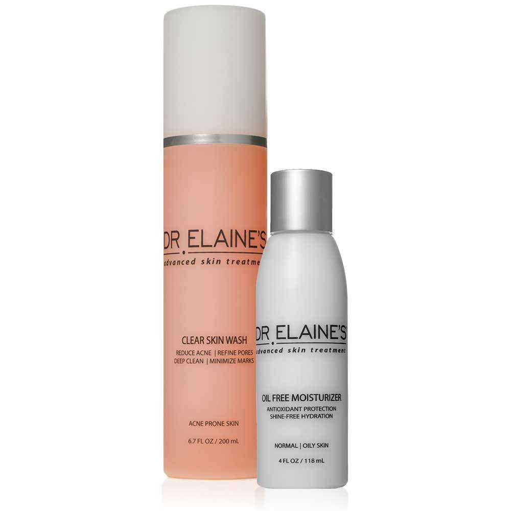Acne Skin Care Set Acne Treatment Duo Dr Elaine S Skincare Skintreatment Com Dr Elaine S Advanced Skin Treatment