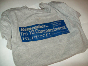Remember the 10 Commandments T-Shirt