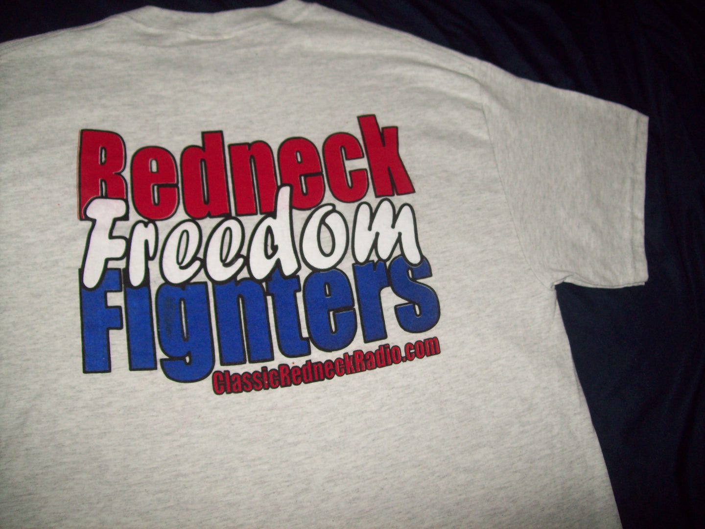 Redneck Freedom Fighter T Shirt