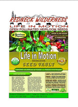 Redneck Wilderness Open Pollinated Heirloom Seeds