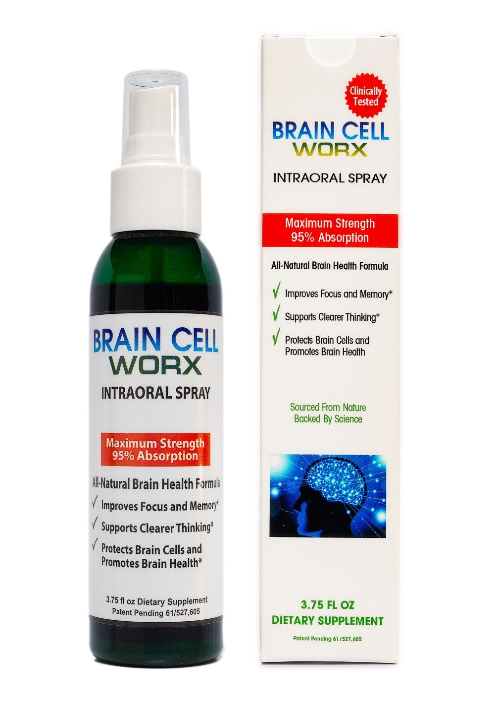 Brain Cell Worx® Intraoral Spray