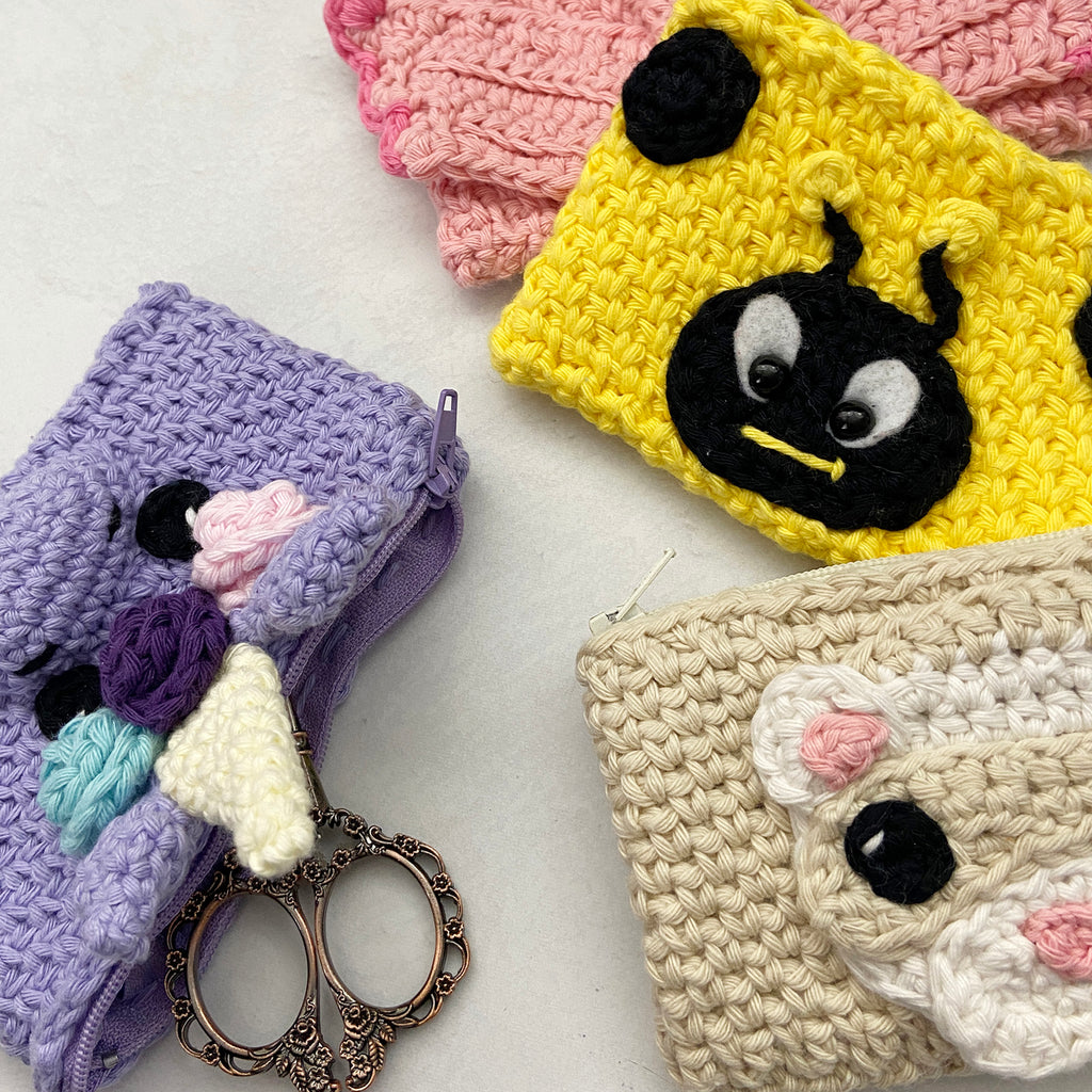 From cozies to coin pouches, double your fun with this crochet pattern hack!