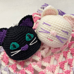 The Little Lovey Blanket and Cleo the Kitten Scrubby Amigurumi Join our Free Pattern Collection