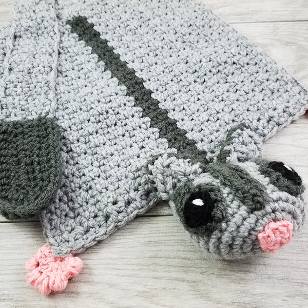 Sassy the Sugar Glider Lovey Crochet Pattern