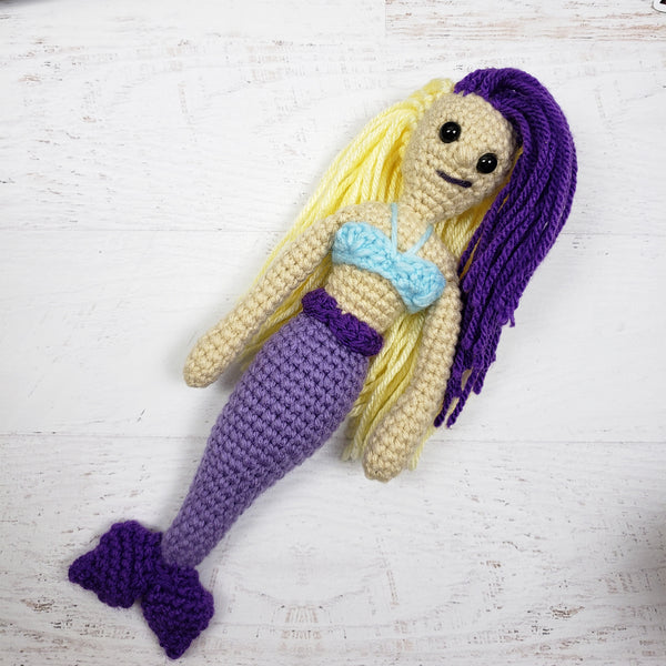 Melody the Mermaid Free Crochet Pattern