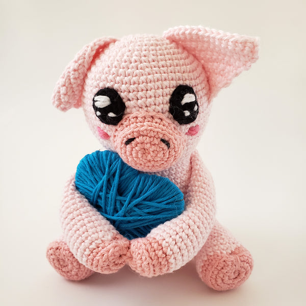 Plorp the Pig Free Crochet Pattern